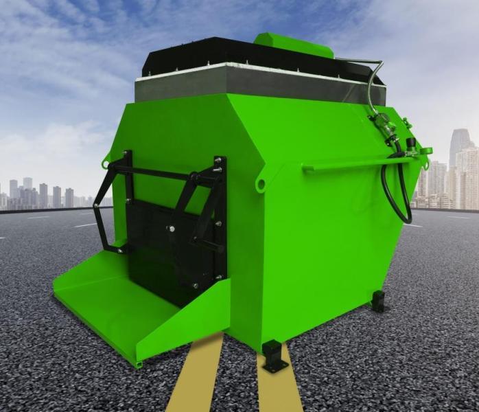 RA500 Aszfalt újrahasznosító