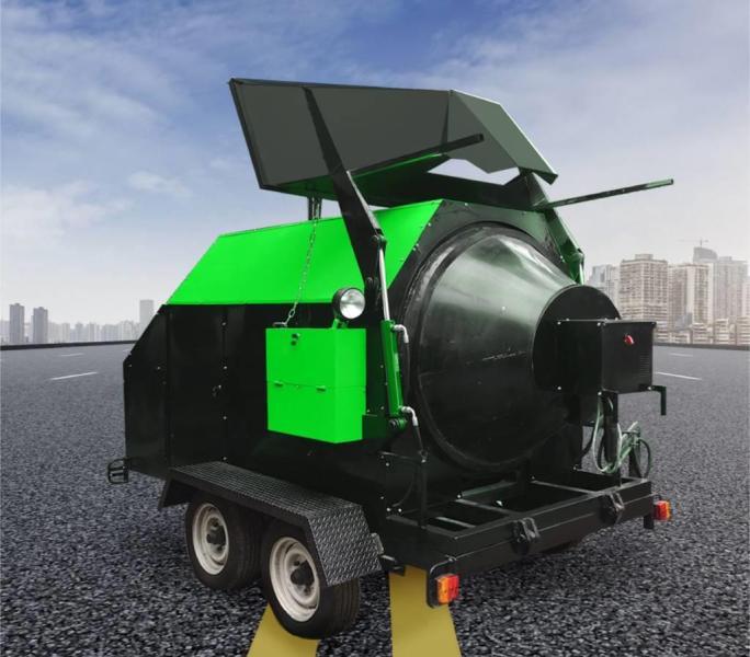 RA800 Aszfalt újrahasznosító